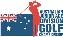 Australian Junior Age Division Golf
